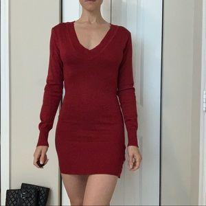 Dresses & Skirts - Red Shimmery Dress